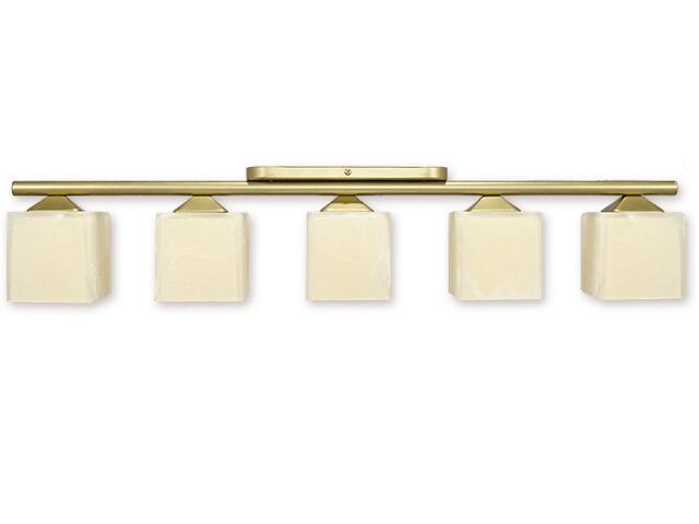 Lampa sufitowa Alfa 5-płomienna złoto 915/W5 ZŁ Lemir