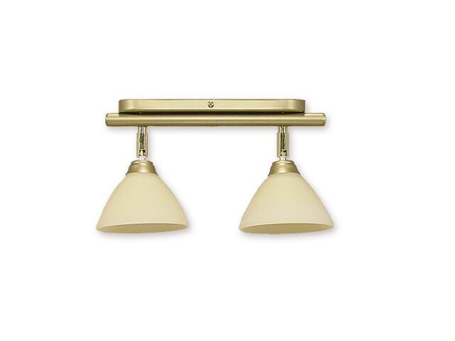 Lampa sufitowa Sigma 2-płomienna złoto 942/W2 Lemir