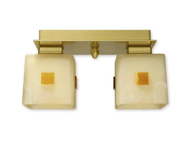Lampa sufitowa Echo 2-płomienna złota O1192/W2 ZŁ Lemir