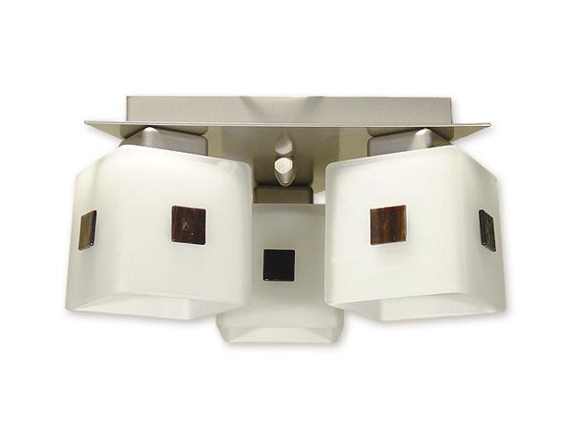 Lampa sufitowa Echo 3-płomienna satyna O1193/W3 SAT Lemir