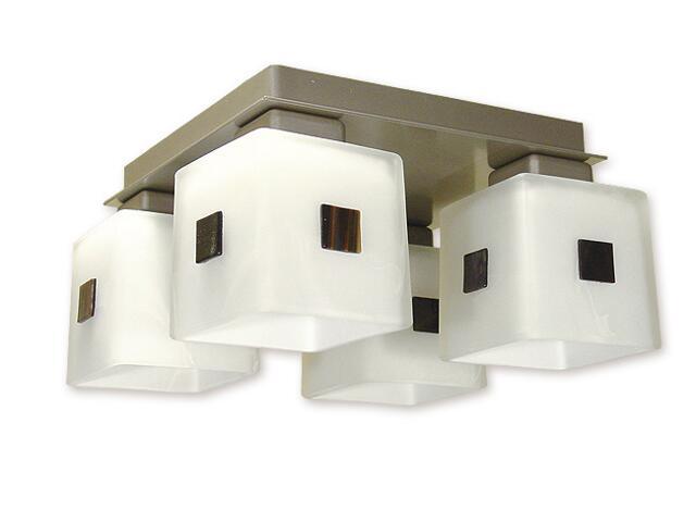 Lampa sufitowa Echo 4-płomienna satyna O1194/W4 SAT Lemir