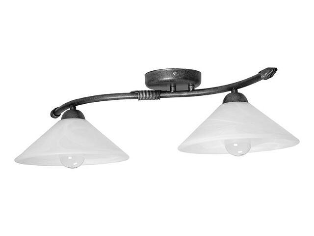 Lampa sufitowa Deco srebrna 2xE27 05123 Sigma