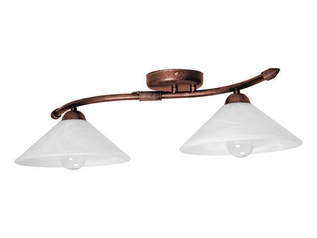 Lampa sufitowa Deco miedziana 2xE27 05124 Sigma
