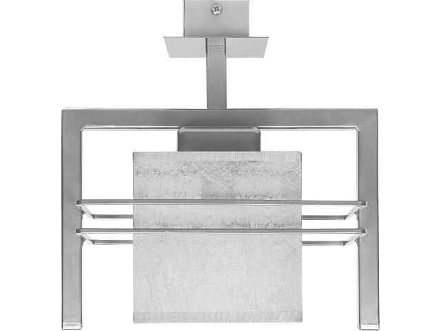 Lampa wisząca Aldo Trend srebrna 1xE14 07813 Sigma