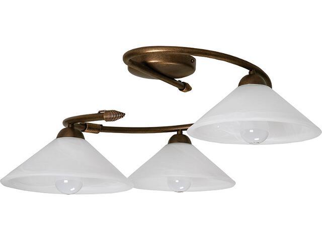 Lampa sufitowa Deco złota 3xE27 05125 Sigma