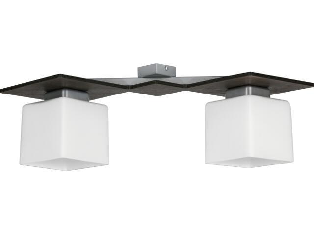Lampa sufitowa Astra wenge 2xE27 10305 Sigma