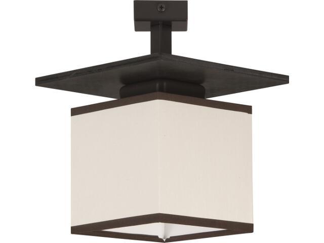 Lampa wisząca Astra Trend wenge 1xE14 10406 Sigma