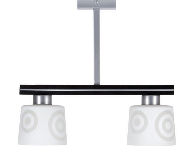 Lampa wisząca Diego wenge 2xE27 10805 Sigma