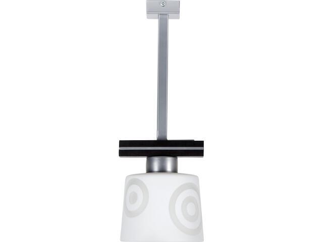 Lampa wisząca Diego wenge 1xE27 10806 Sigma