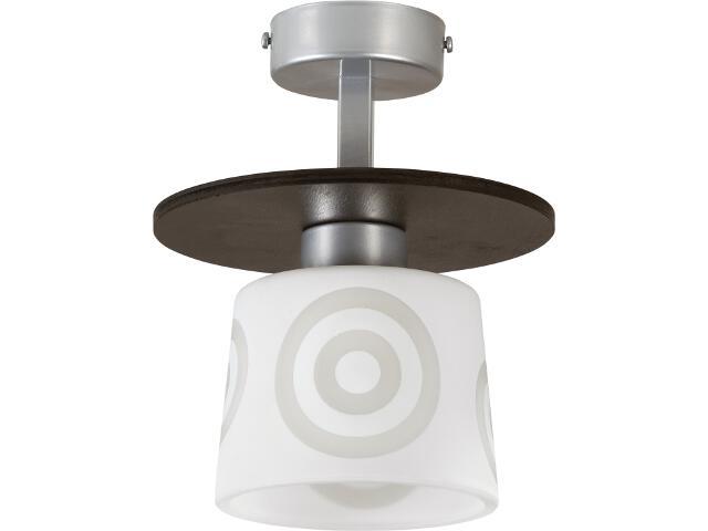 Lampa wisząca Duet wenge 1xE27 10908 Sigma