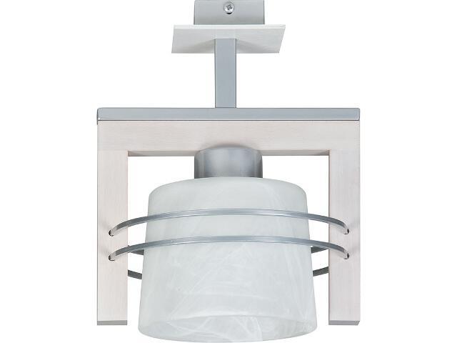Lampa wisząca Carlo dąb bielony 1xE27 07015 Sigma
