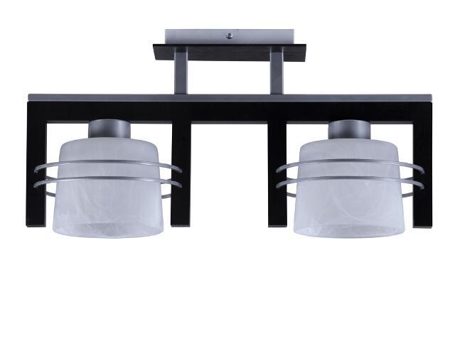 Lampa wisząca Carlo wenge 2xE27 07018 Sigma
