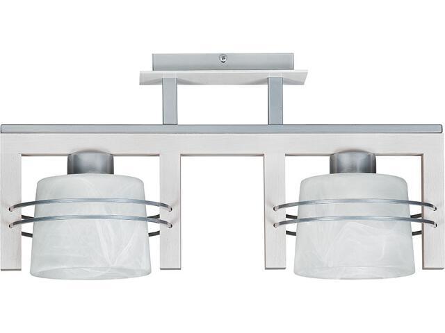Lampa wisząca Carlo dąb bielony 2xE27 07017 Sigma