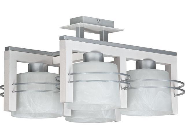 Lampa wisząca Carlo dąb bielony 4xE27 07021 Sigma