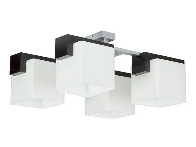 Lampa wisząca Fido wenge 4xE27 12509 Sigma