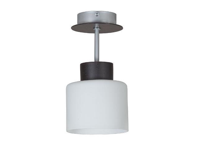 Lampa wisząca Nela wenge biała 1xE27 12915 Sigma