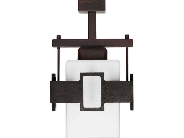 Lampa wisząca Karo 1xE27 wenge 14612 Sigma