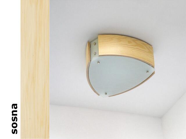 Plafon ATLANTIC III sosna 1208P3201 Cleoni