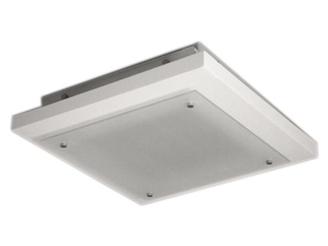 Plafon KWADRA 37 fazowany 370x370 biały 3791 Cleoni