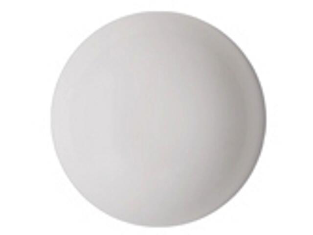 Plafon DORIA C122B 1x22W klosz mleczny biały Elgo