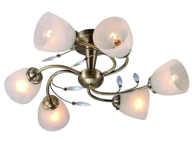 Lampa sufitowa Leara 6xE14 40W C997112-6RT Reality