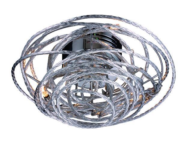 Lampa sufitowa Metalic 3xG4 20W 998063 Reality