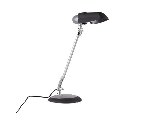 Lampa biurkowa Hood ESL 20W fiolet chrom mat Paulmann