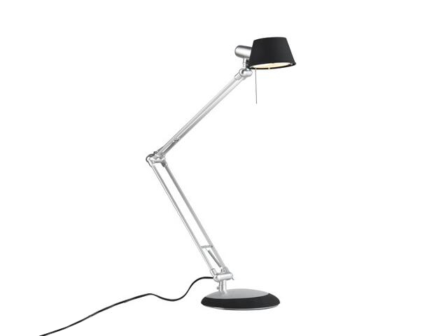 Lampa biurkowa Move LED 5W czarna chrom mat Paulmann