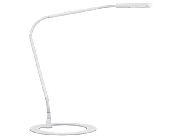 Lampa biurkowa Plaza LED 1x3W 700 mA biała Paulmann