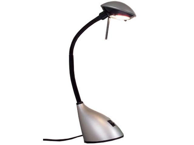 Lampa biurkowa Ida 1x20W srebrna Paulmann