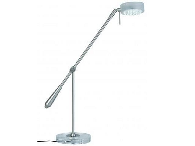 Lampa biurkowa Disc LED 12V metal akryl Paulmann