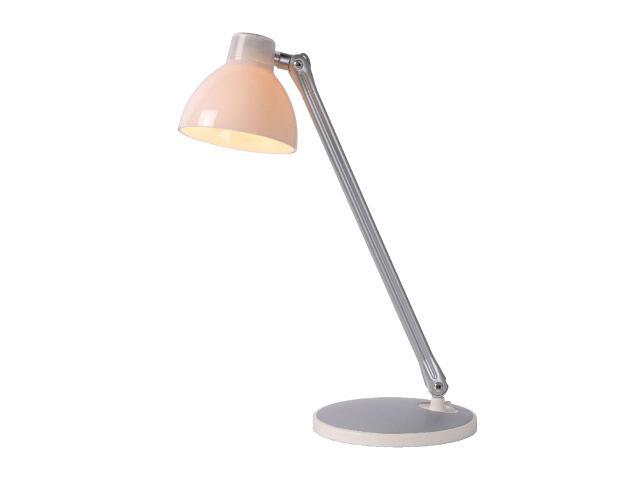 Lampa biurkowa B-Bowl 1x60W E27 white 16640/01/31 Lucide