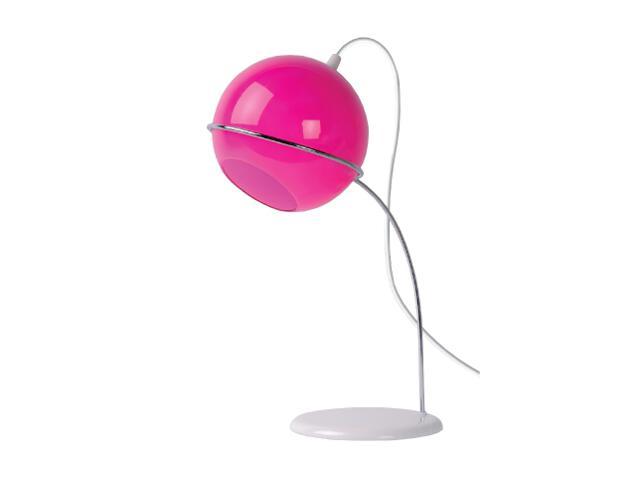Lampa biurkowa Amy 1x40W E14 lilac 18615/01/32 Lucide