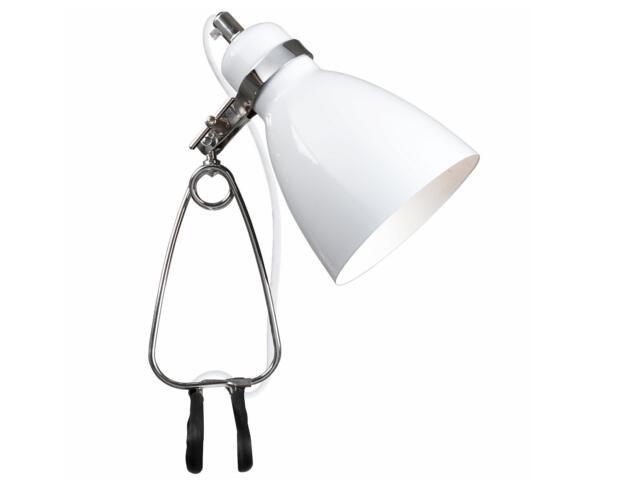Lampa biurkowa Cyclone 1xE14 40W z klipsem 73072001 Reality