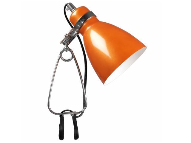 Lampa biurkowa Cyclone 1xE14 40W z klipsem 73072027 Reality