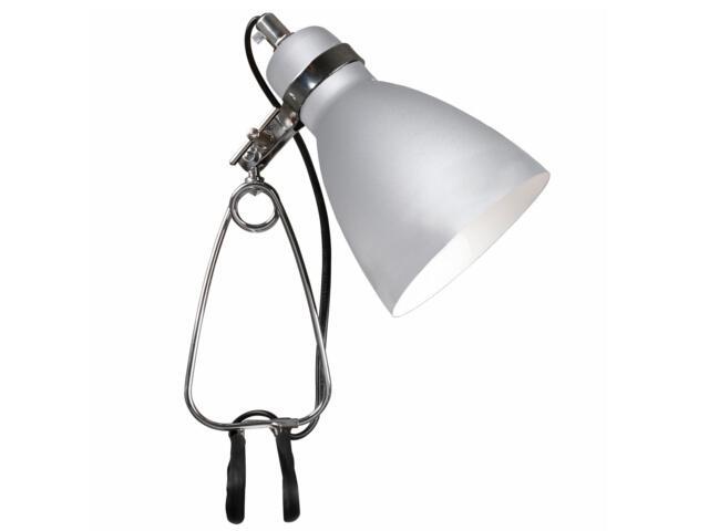 Lampa biurkowa Cyclone 1xE14 40W z klipsem 73072029 Reality
