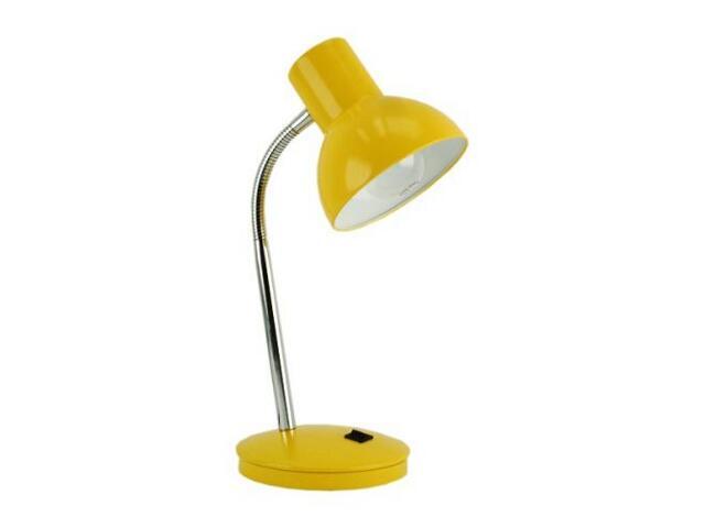Lampa biurkowa LISA 60W LM 106D żółta ANS