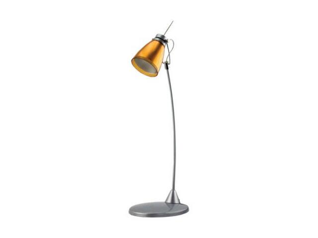 Lampa biurkowa KINGA 40W HD 2553B pomarańczowa ANS