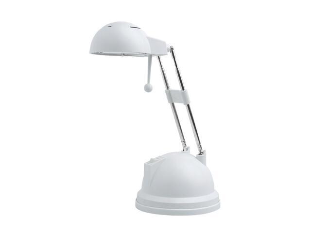 Lampa biurkowa GOLBA SX065 20W-W/T biała metaliczna Kanlux