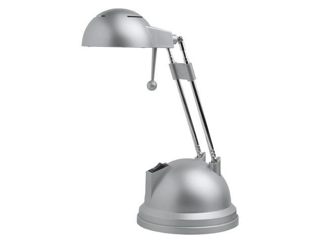 Lampa biurkowa GOLBA SX065 20W-GF/T szara metaliczna Kanlux