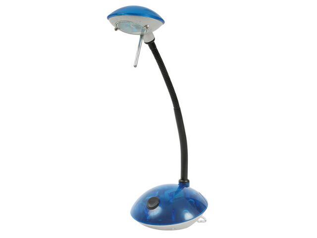 Lampa biurkowa MADRE SX2037 BLN/TR przezroczysta niebieska Kanlux