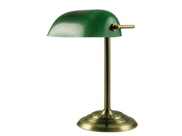 Lampa biurkowa Bankierka 1xE27 60W 503301-04 Reality