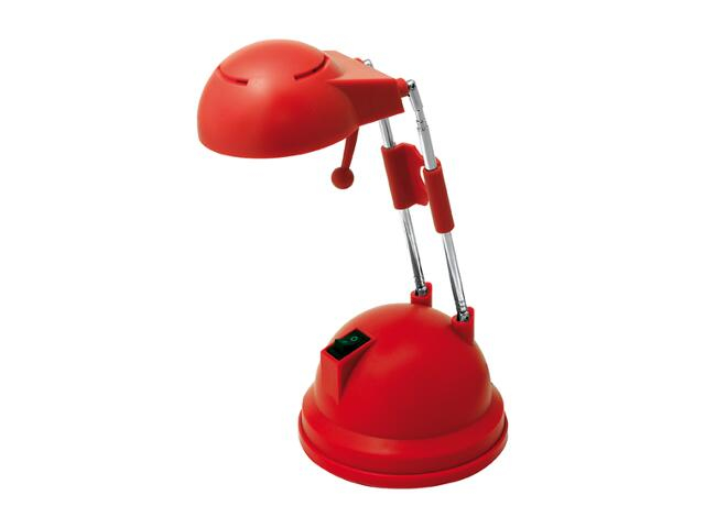 Lampa biurkowa ALFA czerwona SMART4light