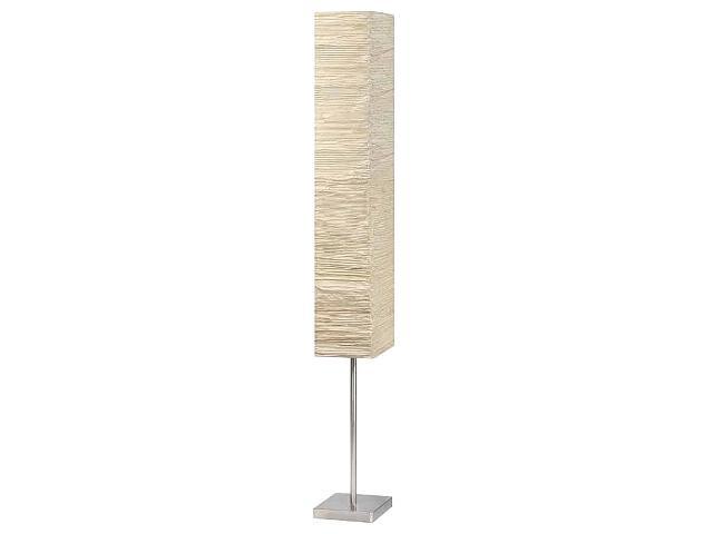 Lampa podłogowa Nerva 2x40W E14 srebrny, brązowy 92603/28 Brilliant