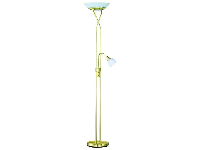 Lampa podłogowa Qualia 1xE27+1xE17 60W R47022008 Reality