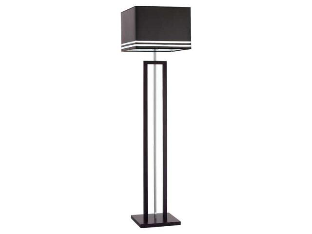 Lampa podłogowa Brown E27 60W 16389 Alfa