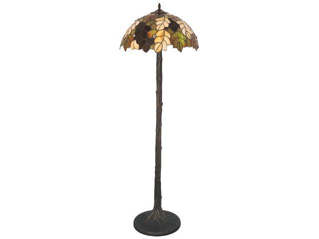 Lampa podłogowa witrażowa Carson 2xE27 60W K-F181420 Kaja