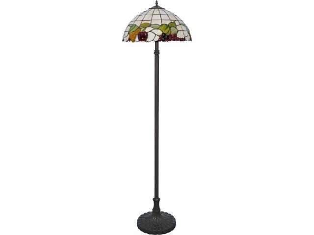Lampa podłogowa witrażowa Witraż 2xE27 60W K-F18550 Kaja