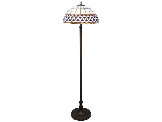 Lampa podłogowa witrażowa Sargan 2xE27 60W K-F182208 Kaja