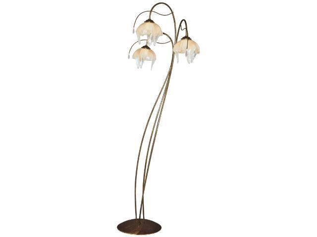 Lampa podłogowa Pietra 3xE27 60W K-2057 Kaja